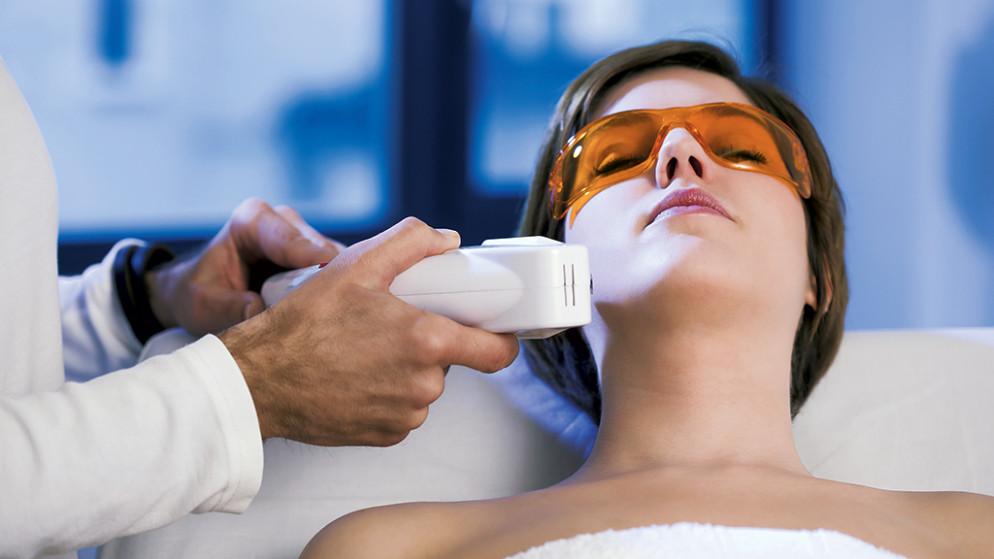 Woman Getting Magma Laser Treatment